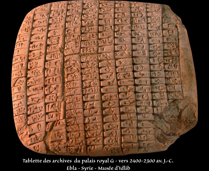 Esthétique des tablettes d'argile Tablet13
