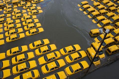 Sandy créatrice de paysages automobiles Taxi10