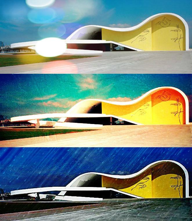 Décès d'Oscar Niemeyer Teatro10