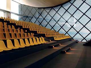 Décès d'Oscar Niemeyer Teatro11