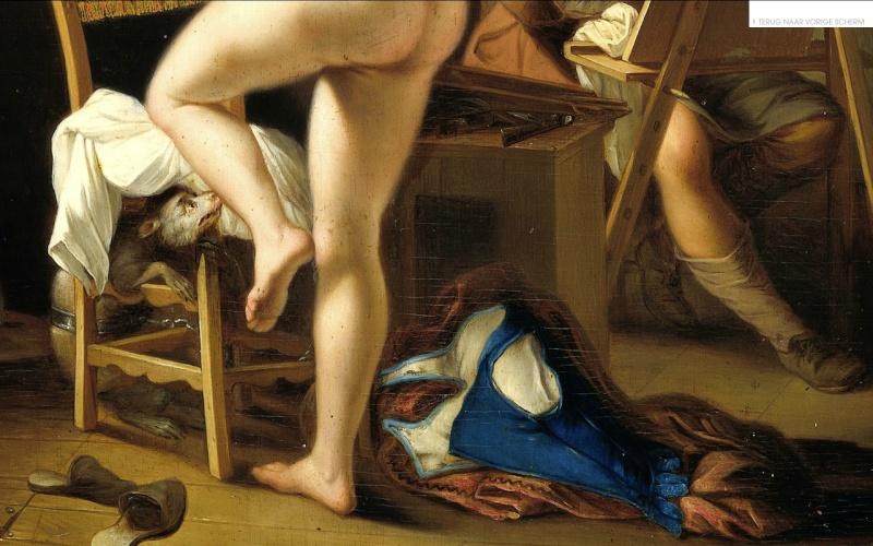 la plus belle peinture hollandaise de femme nue Vanhoo10