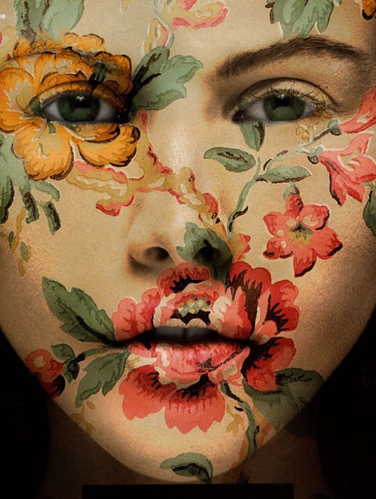 Femmes peintes Visage10