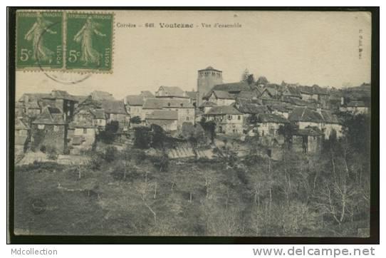 Voutezac (Corrèze) visitée sur le Web Voutez13