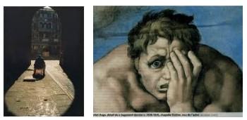 Juxtapositions oulipiennes d'images - Poésie des contrastes Voyeur10