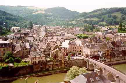 Saint Geniez d'Olt (Aveyron) visité sur le Web Vstgen10