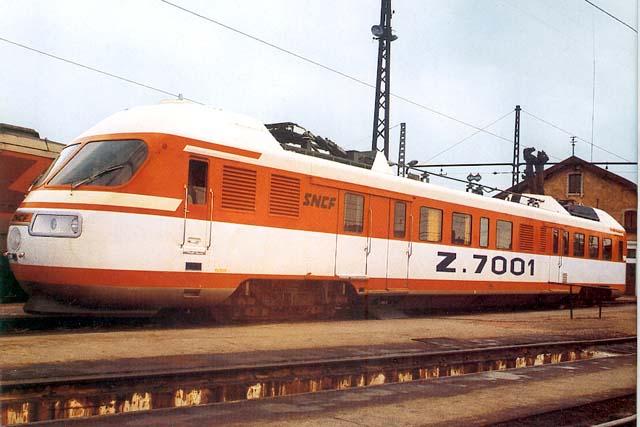 Samedi 15 octobre 2011 - en 1971 252km/h avec un TurboTrain Z7001-10