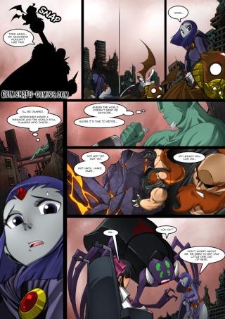 Raven en comic de Bleedman  11111710