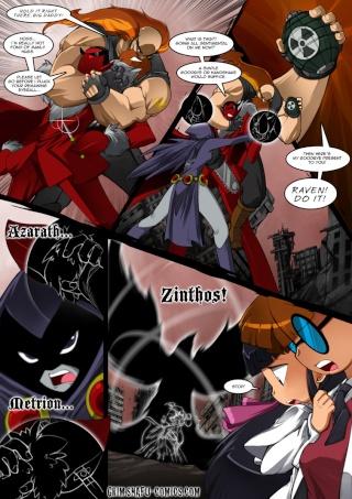 Raven en comic de Bleedman  12011910