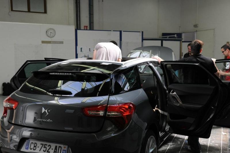 Nouvelle Citroën pour nouveau Président... Ds5pre10