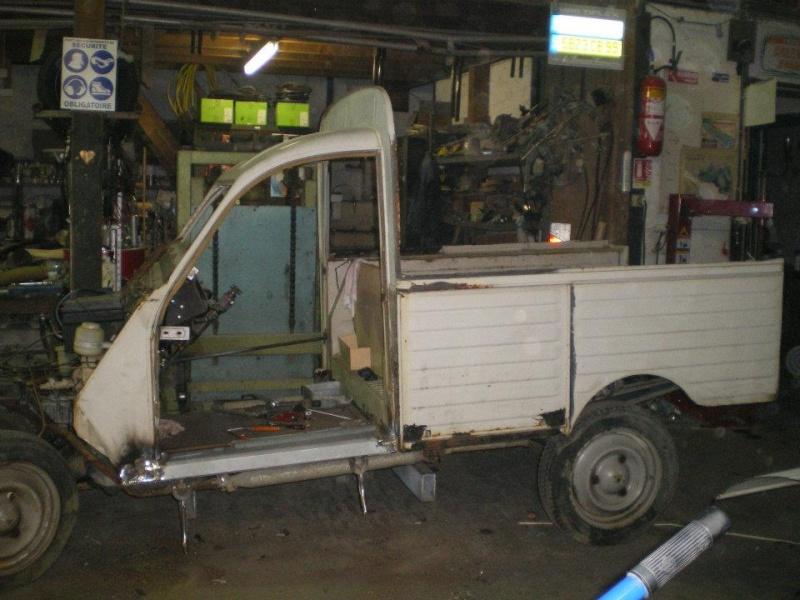 2cv Pick-up Cochonou... Phd0210