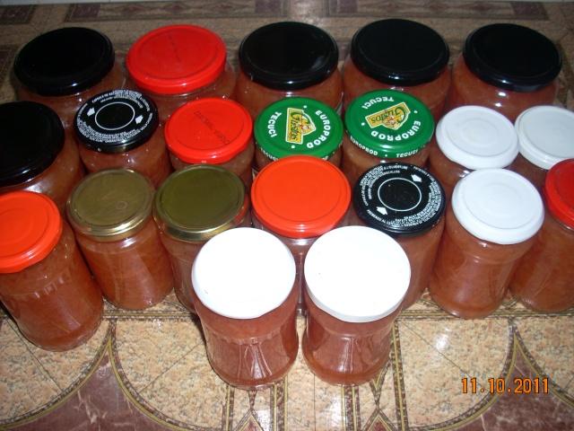 Dulceţuri tradiţionale, siropuri, gemuri, compot pt.iarna şi fructe confiate. Apolon31