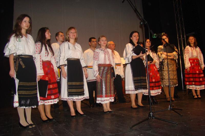 Spectacol de muzică populară dedicat Micii Uniri -25 ian 2012 Ateneu48