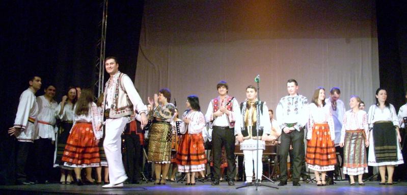 Spectacol de muzică populară dedicat Micii Uniri -25 ian 2012 Ateneu53