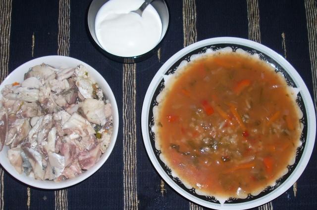 Ciorbe,supe, borsuri de legume si cu carne Balcon23