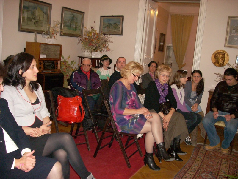 Şedinţa a XVIII-a Cenaclului U.P.-Lansare de carte-Vasile Anton-28 oct 2011 Cenacl33