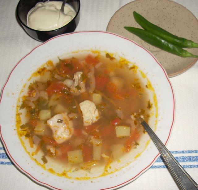 Ciorbe,supe, borsuri de legume si cu carne Ciorba14
