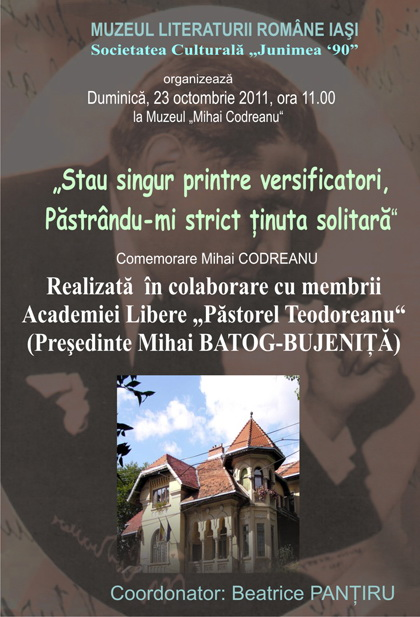 Comemorarea sonetistului Mihai Codreanu-23 octombrie 2011 Clip_133