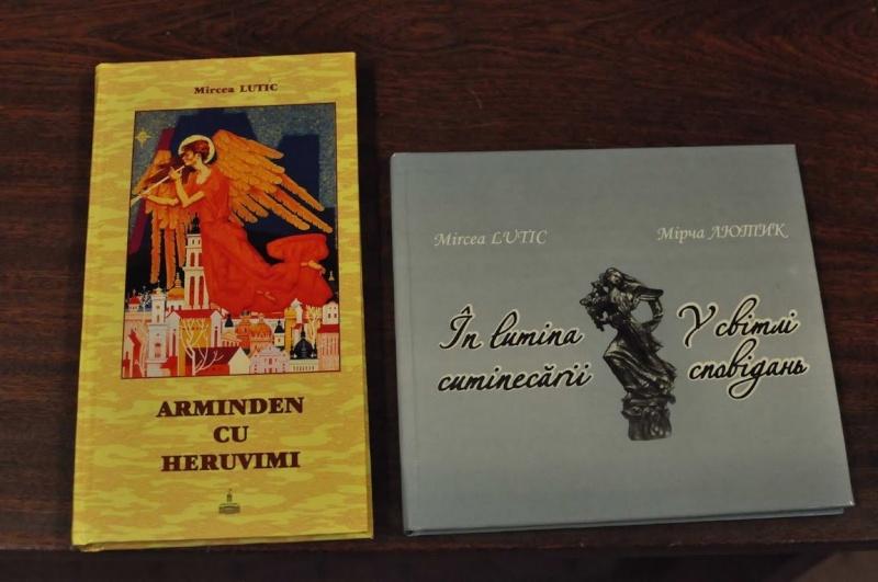 """Lansare de carte: Mircea Lutic. """"ARMINDEN CU HERUVIMI"""" si """"IN LUMINA CUMINECARII"""" Clip_148"""