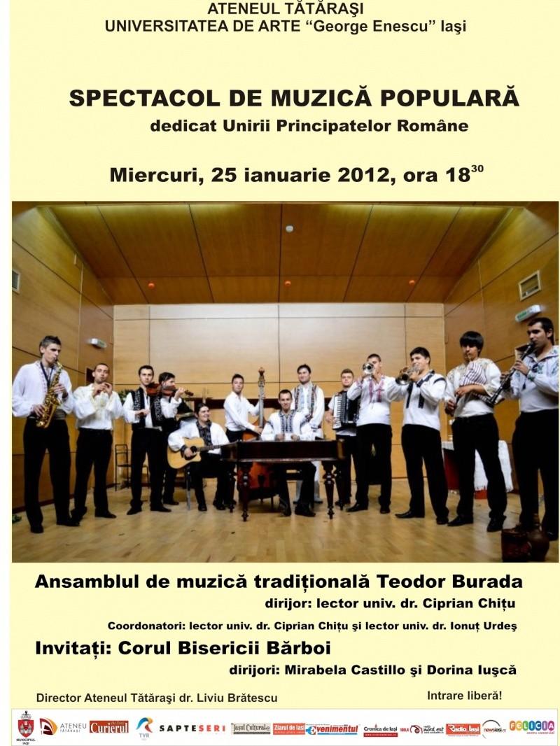 Spectacol de muzică populară dedicat Micii Uniri -25 ian 2012 Clip_186