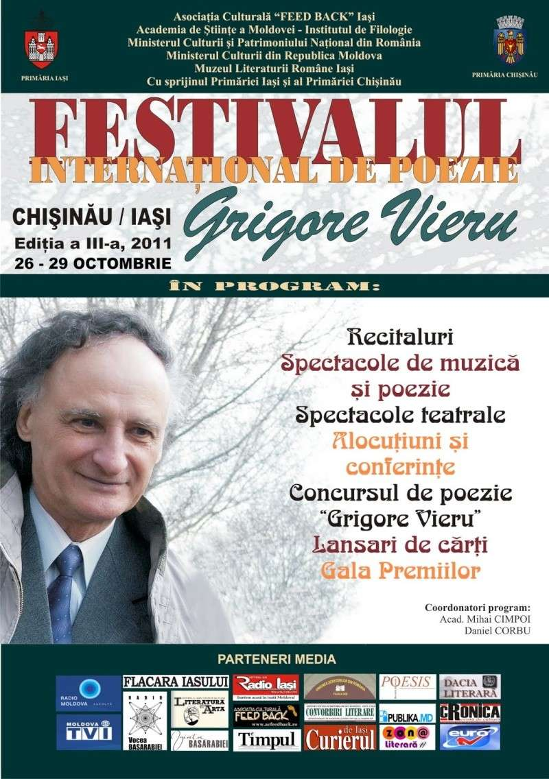 """Festivalul Internaţional de Poezie """"Grigore Vieru""""-Iasi si Chisinau- editia 2011  Clip_226"""