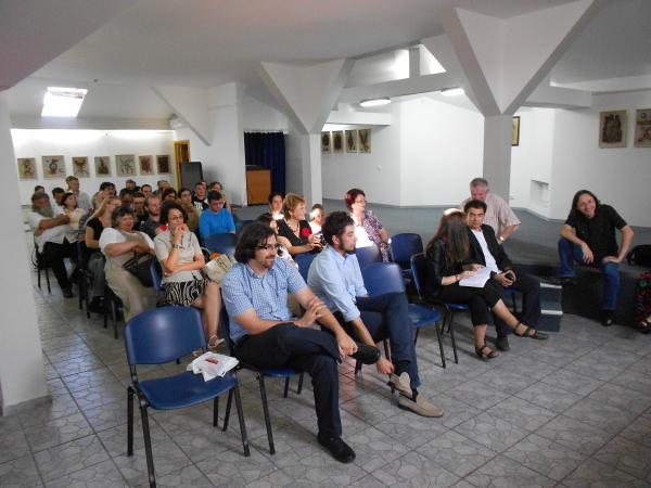 """Lansarea antologiei-""""Alertă de grad zero în proza scurtă românească actuală"""" Clip_414"""