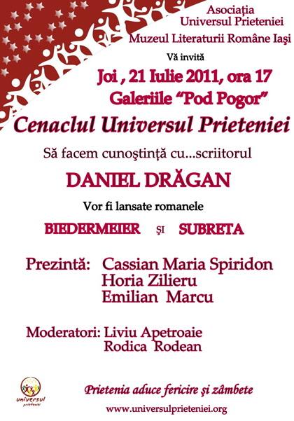 Sedinta a XVI-a a Cenaclului U.P.-Sa facem cunostinta cu scriitorul Daniel Dragan Clip_515
