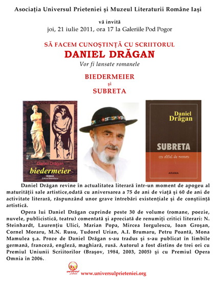 Sedinta a XVI-a a Cenaclului U.P.-Sa facem cunostinta cu scriitorul Daniel Dragan Clip_713
