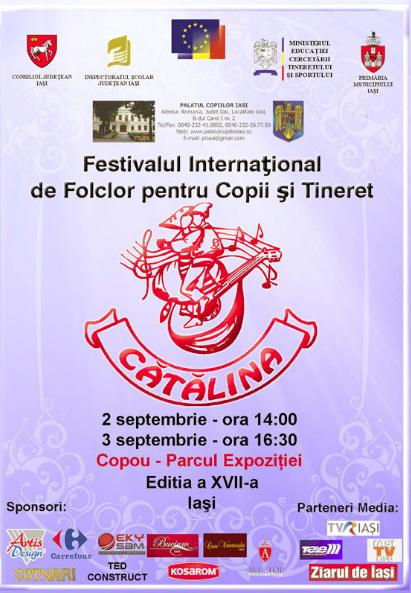 """A XVII-a editie a Festivalului de Folclor pentru Copii si Tineret """"Catalina""""-Iasi -02/03 sept 2011 Clip_911"""