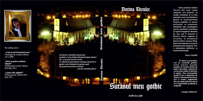 """Lansarea volumului """"Surâsul meu Gothic"""" -Dorina Neculce în cadrul Colocviului- """"Estetica gotică şi ecouri moderne""""-10 dec 2011 Cop11"""