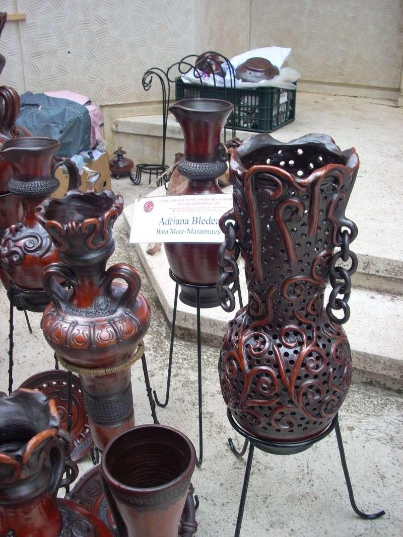 Targul de arta ceramica Cucuteni si al mestesugarilor de la Iasi-1/3 iulie 2011 Cucute12