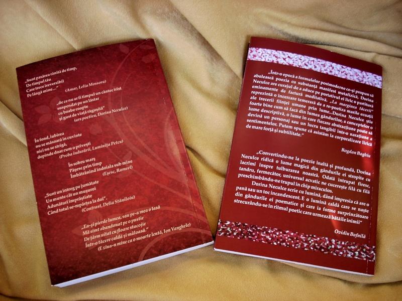 """Lansare de cărţi: """"La marginea tăcerii"""", de Dorina Neculce, """"Vade Mecum"""", Antologie versuri. Şase poeţi contemporani. """"Contraria"""",Rameel şi Dorina Neculce Dorina25"""