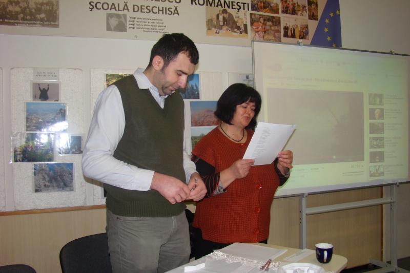 """Manifestări dedicate omagierii poetului Mihai Eminescu la şcoala """"Ioanid Romanescu"""" din Româneşti Dsc03527"""