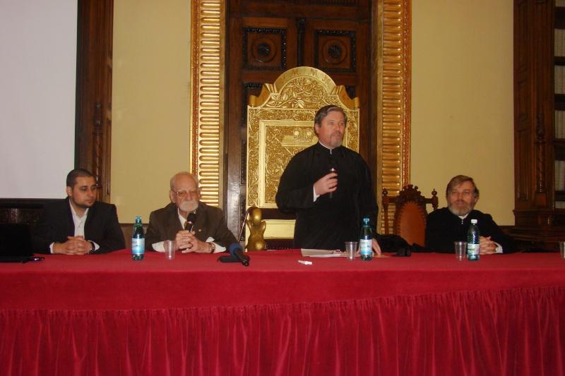 """Conferință acad. Constantin Bălăceanu Stolnici, Iași -02.03.2012-""""Simbolistica în opera lui Constantin  Brâncuși"""" Dsc03714"""