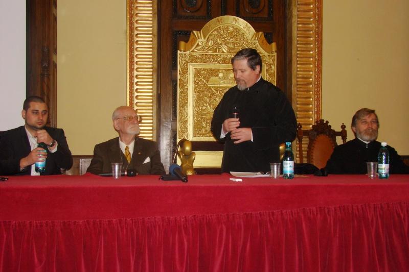"""Conferință acad. Constantin Bălăceanu Stolnici, Iași -02.03.2012-""""Simbolistica în opera lui Constantin  Brâncuși"""" Dsc03715"""