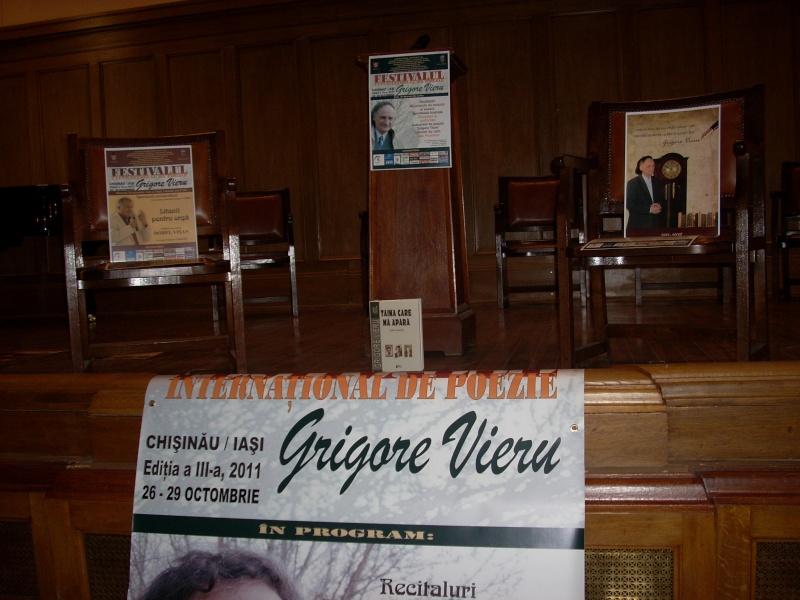 """Festivalul Internaţional de Poezie """"Grigore Vieru""""-Iasi si Chisinau- editia 2011  Festiv13"""
