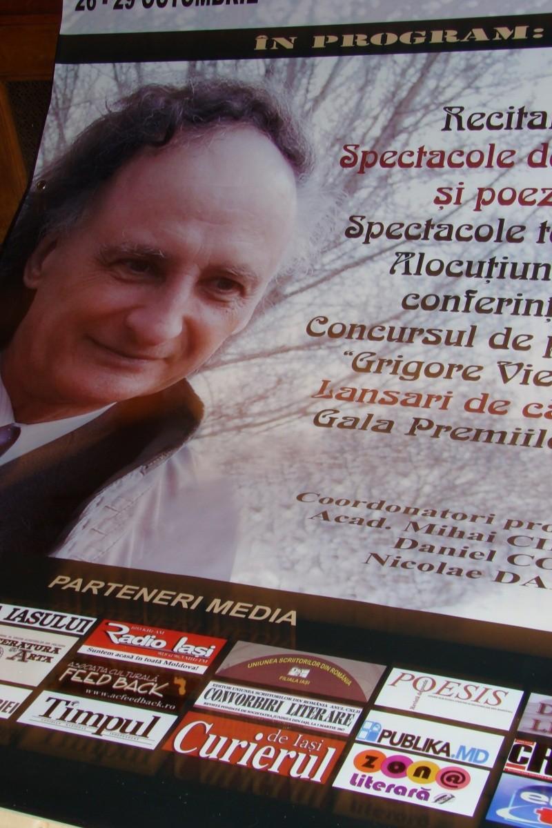 """Festivalul Internaţional de Poezie """"Grigore Vieru""""-Iasi si Chisinau- editia 2011  Festiv14"""