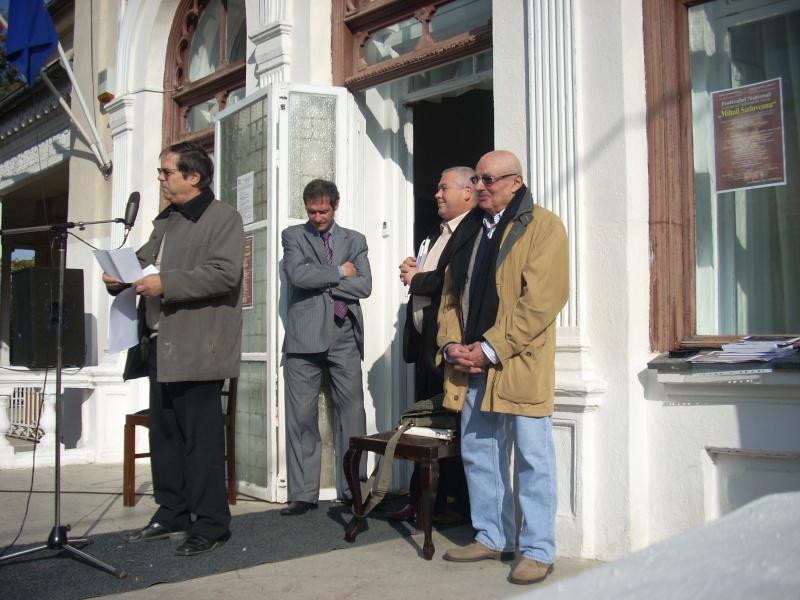 """FESTIVALUL CONCURS NAŢIONAL DE PROZĂ  """"MIHAIL SADOVEANU""""EDIŢIA a II-a, IAŞI, 4-6 noiembrie 2011 Festiv92"""