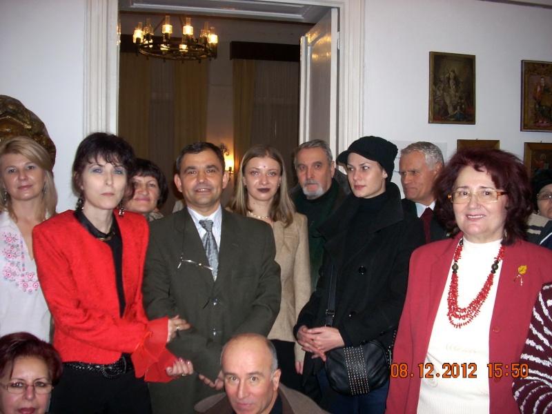 """Lansare """"Anonim pe ringul adolescenţei"""" de Liviu MIRON şi """"Reflecţii"""" de Vasilica Ilie-08 dec 2012 Floare24"""