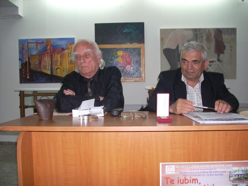 """Şedinţa XXI a Cenaclului Universul Prieteniei-""""ASTRALIA – un continent al poeziei"""" întâlnire de suflet cu omul şi poetul HORIA ZILIERU-19 mai 2012 Horia_11"""