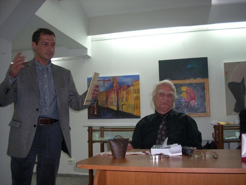 """Şedinţa XXI a Cenaclului Universul Prieteniei-""""ASTRALIA – un continent al poeziei"""" întâlnire de suflet cu omul şi poetul HORIA ZILIERU-19 mai 2012 Horia_15"""