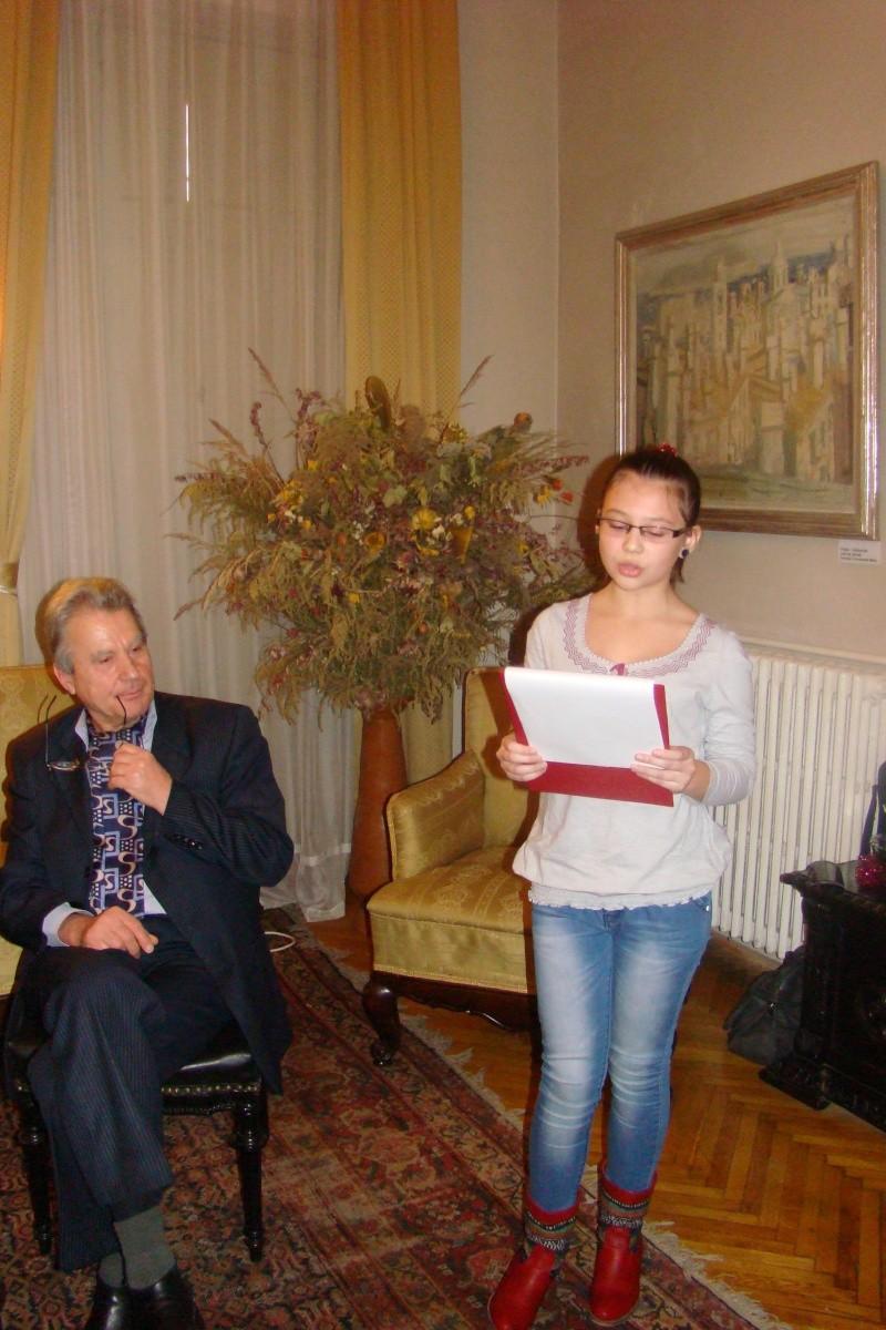 """Lansare """"Anonim pe ringul adolescenţei"""" de Liviu MIRON şi """"Reflecţii"""" de Vasilica Ilie-08 dec 2012 Lansa151"""