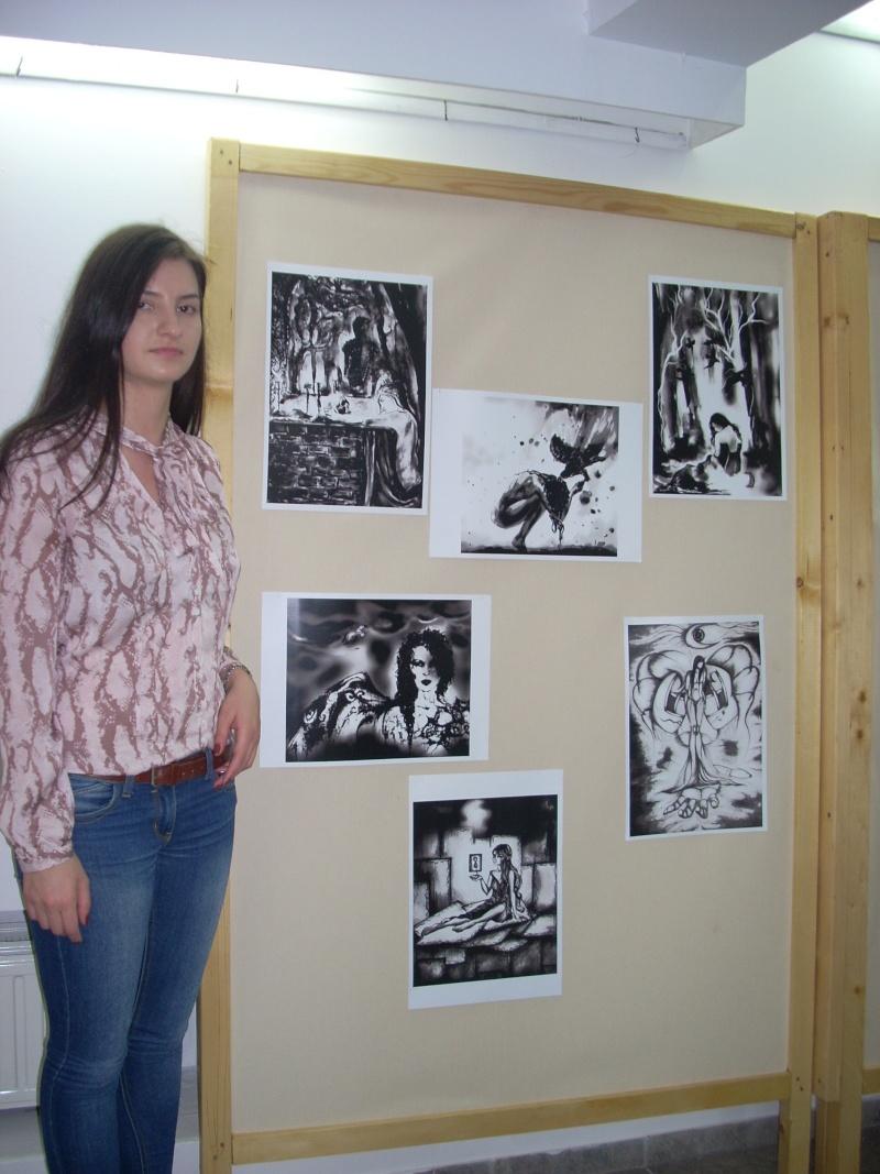 Lansare de cărţi - poezie gotică - Dorina NECULCE-11 mai 2012 Lansar90