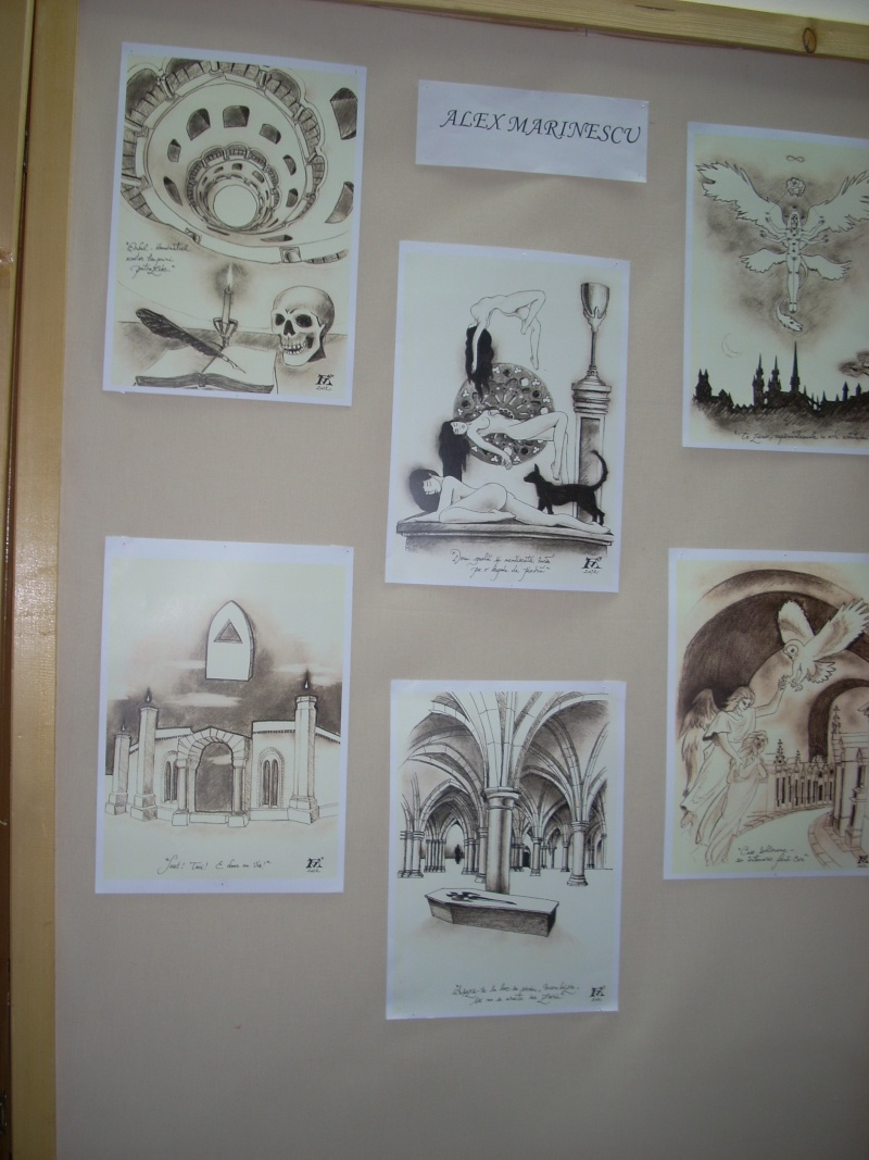 Lansare de cărţi - poezie gotică - Dorina NECULCE-11 mai 2012 Lansar94