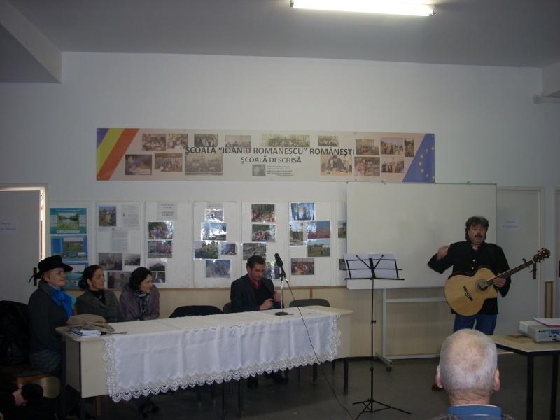 """Manifestări dedicate omagierii poetului Mihai Eminescu la şcoala """"Ioanid Romanescu"""" din Româneşti Romane38"""