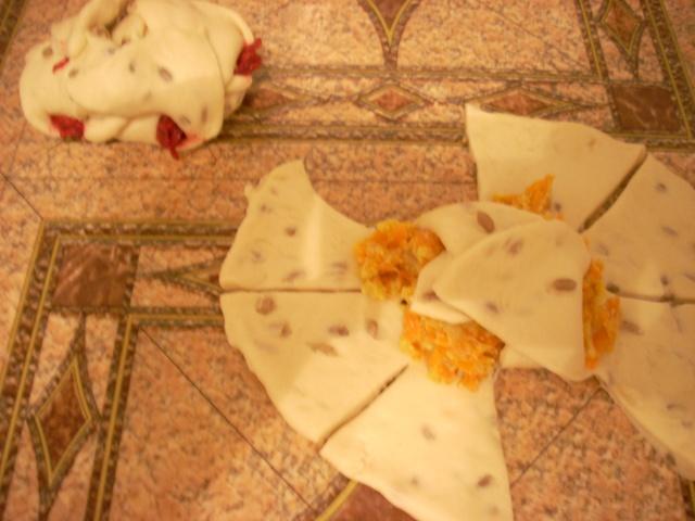 Placinte aperitiv cu diverse umpluturi de frupt si de post Rulada14