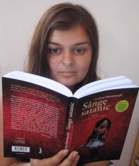 Sânge satanic, de Cristina Nemerovschi, selecționat pentru festivalul francez Premiers Romans En Lecture S10