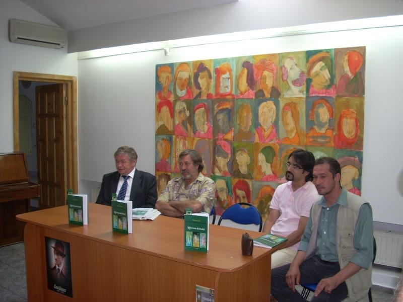 """07 iulie 2011-Sedinta a XV-a A Cenaclului U.P.-Lansare de carte-""""Răscrucea Destinului""""-Vasilica Ilie  Vasili53"""