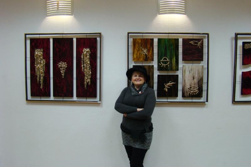 Vernisajul expoziţiei de pictură ART D`ECHO - autor-Liliana Nastas Brătescu-07 dec 2011 Verni235