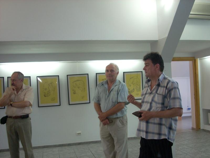 """Vernisaj expozitie """"Scriitori moldoveni"""" – portrete în tuş de Octavian Onea.  Vernis12"""