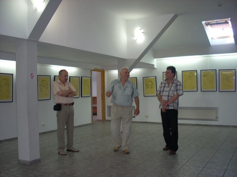 """Vernisaj expozitie """"Scriitori moldoveni"""" – portrete în tuş de Octavian Onea.  Vernis13"""